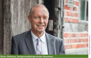 Bürgermeister Günter Oldekamp im Interview zur Dorfgemeinschaft 2.0