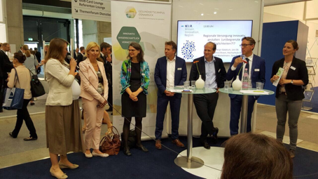 Region gibt in Berlin Einblicke in innovative Gesundheitsprojekte