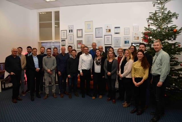 Besuch des Projektträgers aus Berlin beim Quartalstreffen am Nikolaustag