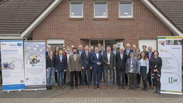 Premiere: Projekttreffen Konsortium und Bürgermeister der Pilotkommunen