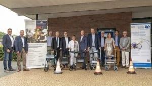 Gemeinsamer Gipfelaufstieg bei der Jahresveranstaltung der Dorfgemeinschaft 2.0 in Emlichheim