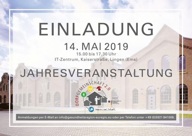 Jahresveranstaltung der Dorfgemeinschaft 2.0 in Lingen (Ems)