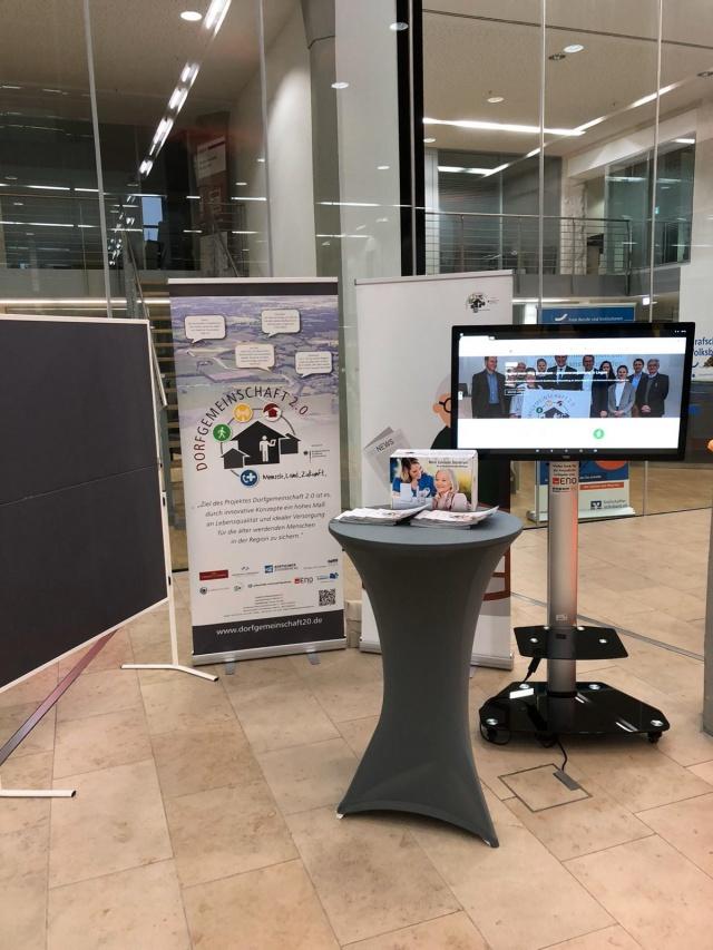 Dorfgemeinschaft 2.0 präsentiert erstmals  Virtuellen Dorfmarktplatz (VDM)